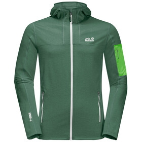 Jack Wolfskin Milford Hooded Jacket Men, sage